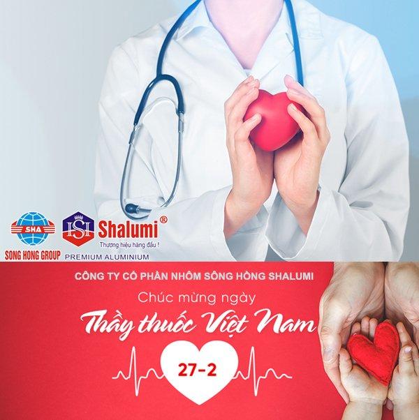 Công ty cổ phần nhôm Sông Hồng chào mừng ngày thầy thuốc Việt Nam 27- 02 - 2021